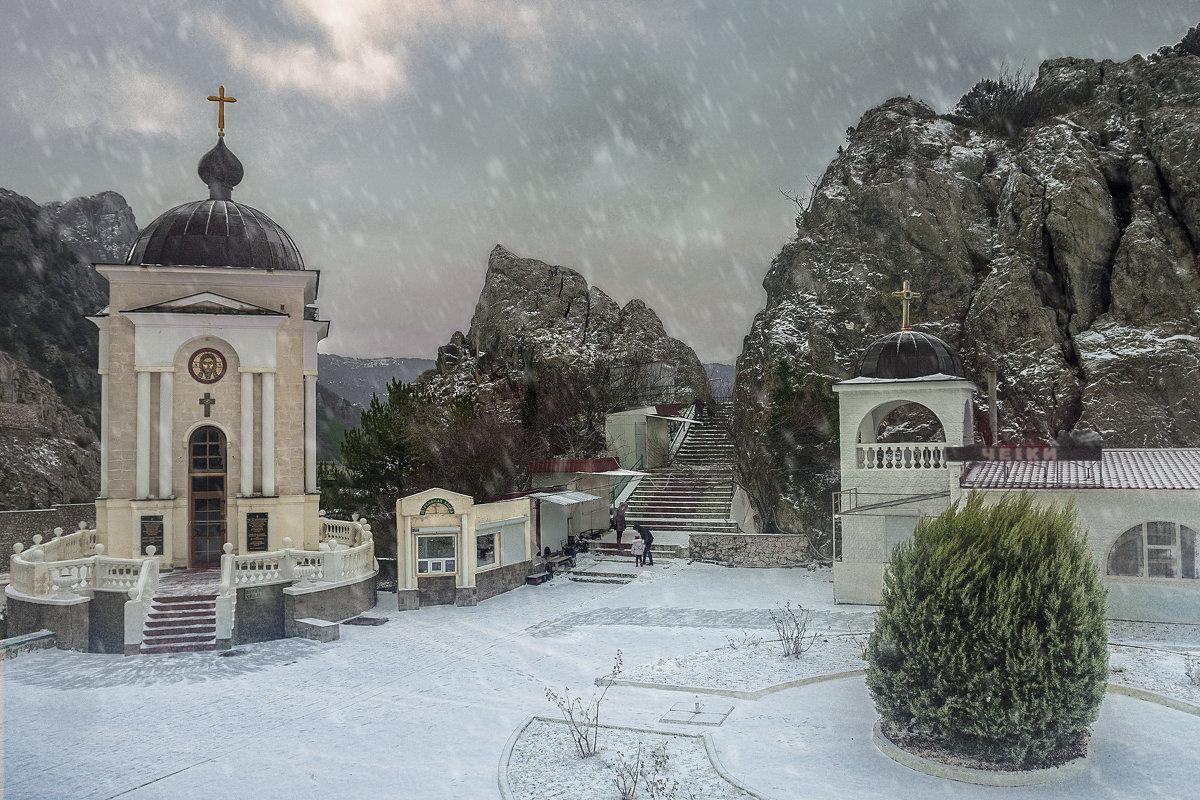 Севастополь. Редкий снежный день - BD Колесников