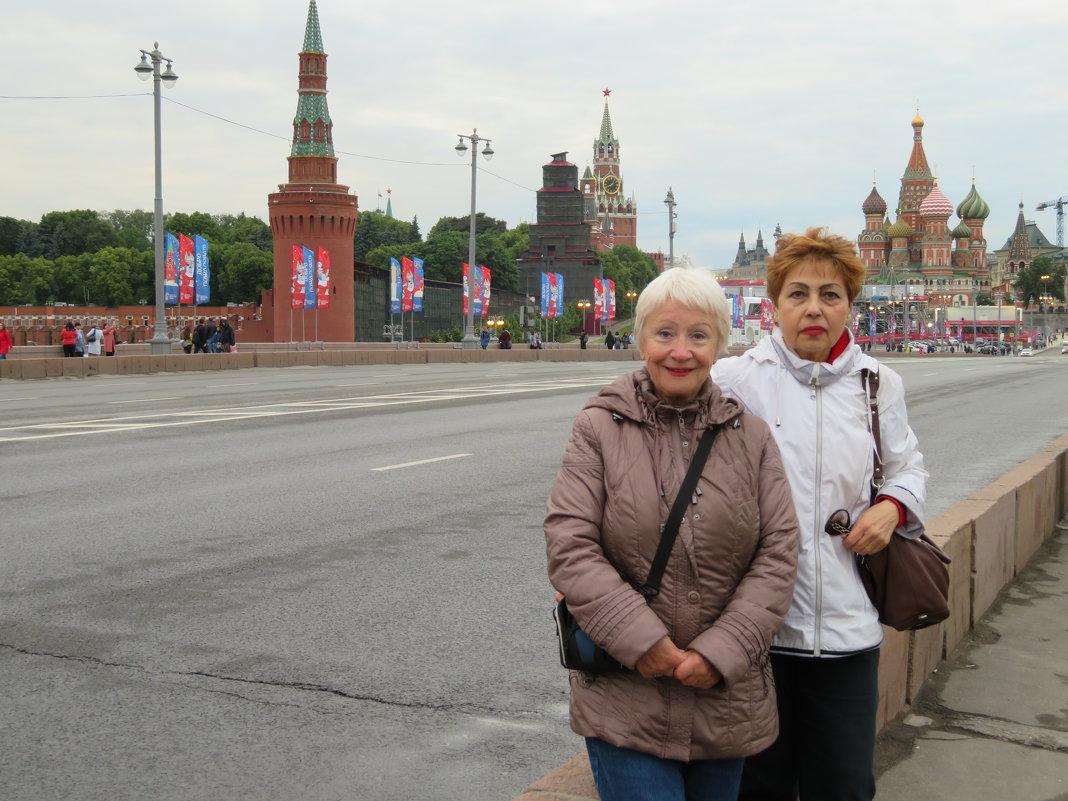 Прогулка по Москве - Natalia Harries