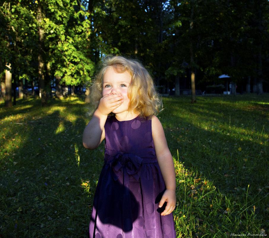 Детский портрет - Марианна Привроцкая