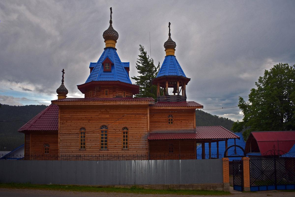Церковь в Артыбаше - Nina Streapan