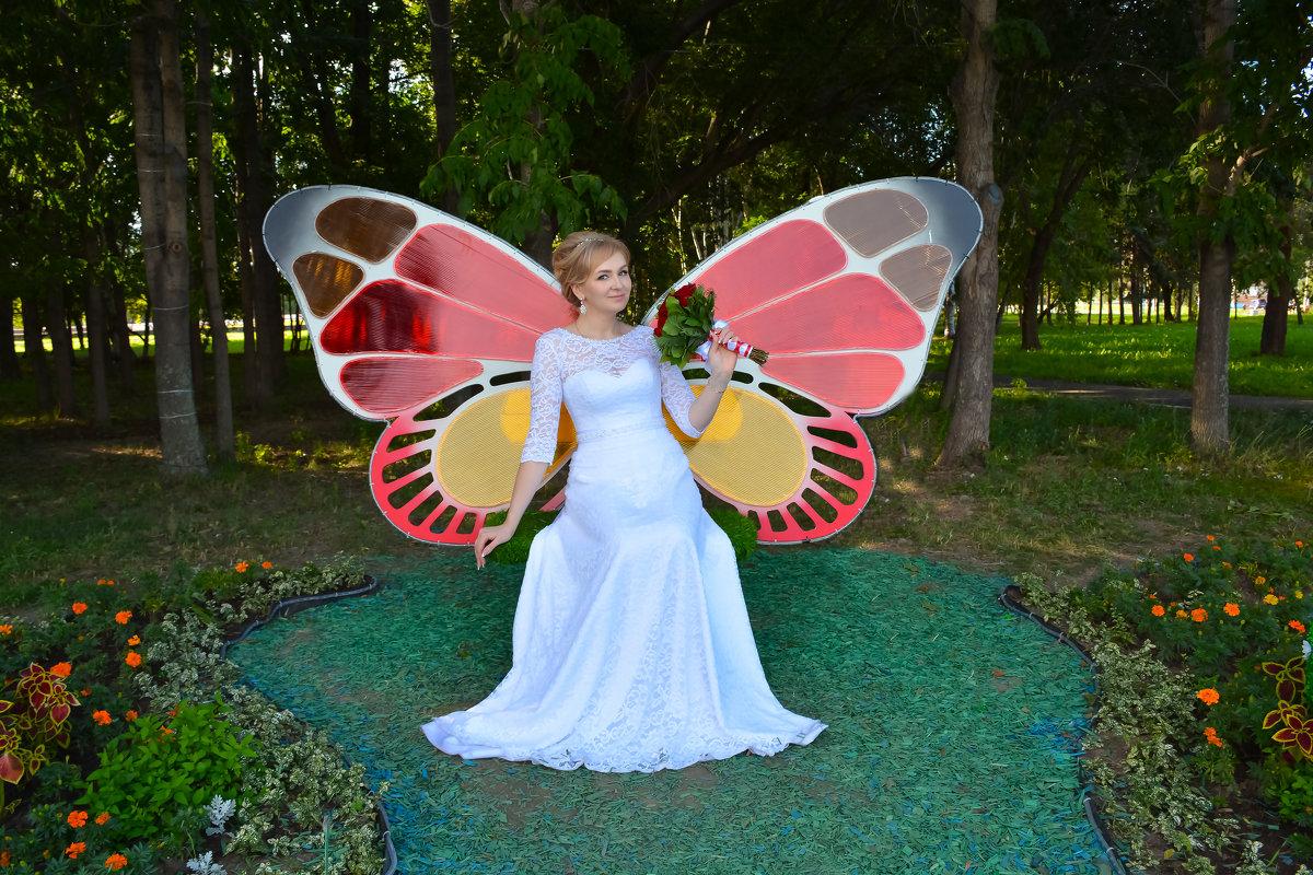 Бабочка Кристина. - Светлана Бурлина