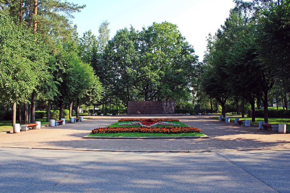 В парке Политеха - Евгений