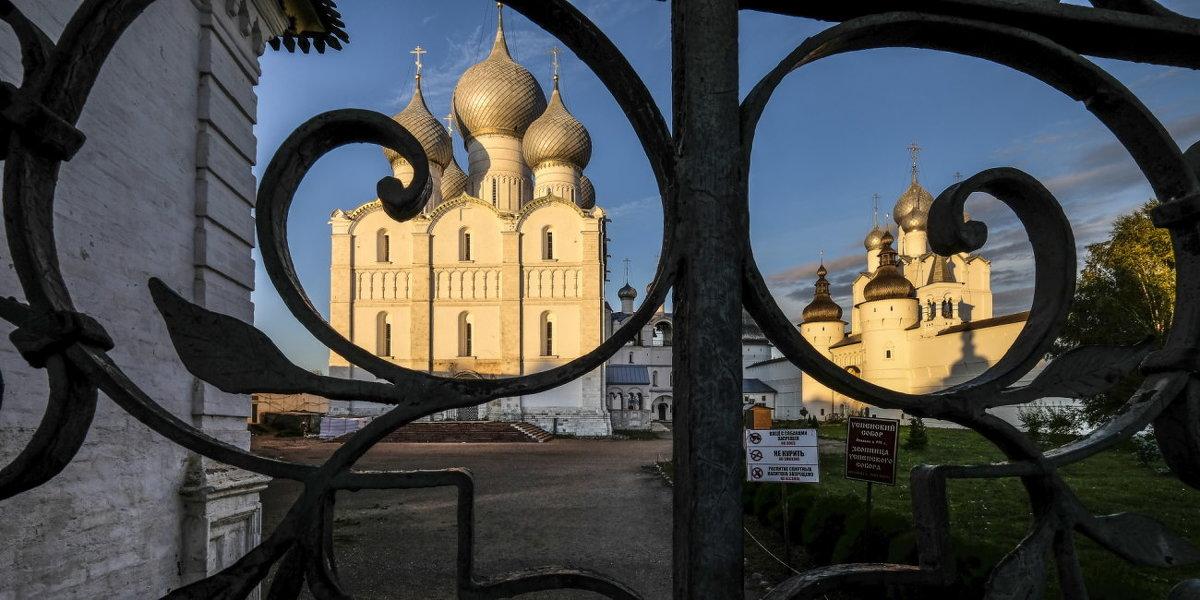 Успенский собор Ростовского Кремля - Георгий А