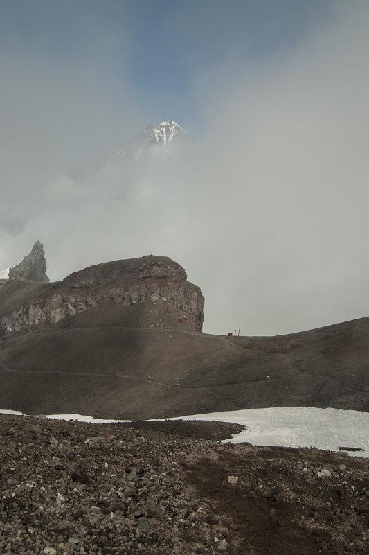 Корякский вулкан - за туманом - Ларико Ильющенко