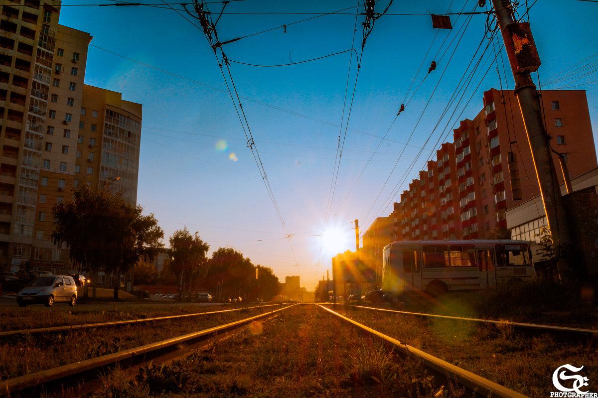 Лучи закатного дня г - Евгения Сенченко