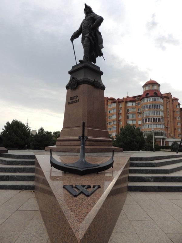Памятник Петру на площади Петра I - Евгения Чередниченко
