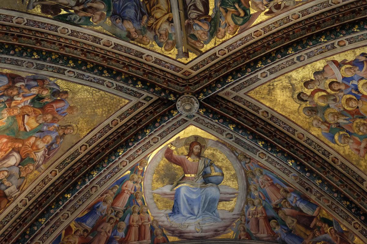 Умбрия. Орвието. Кафедральный собор (Duomo di Orvieto). Придел Св. Бриция. - Надежда Лаптева