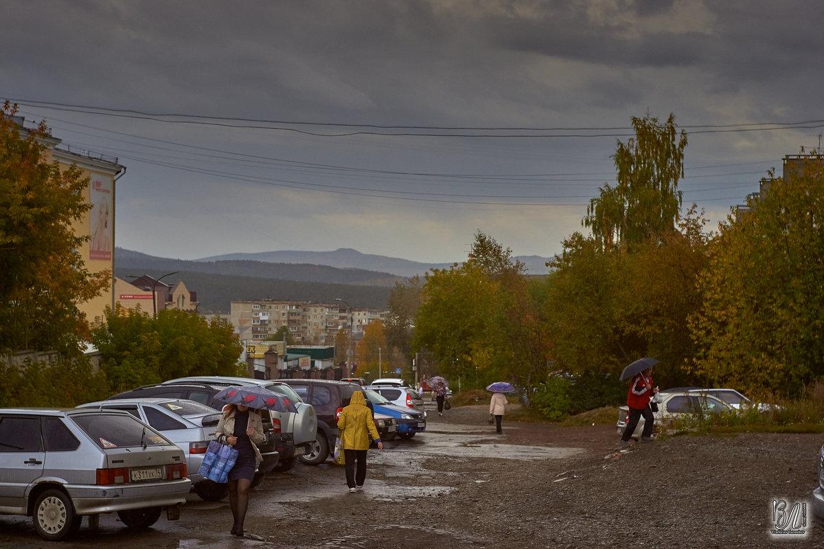 Дождливые осенние зарисовки на ретро объектив  - Владислав Левашов