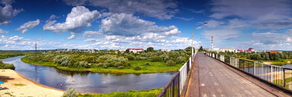 Уездный город. Панорама - Артур Овсепян