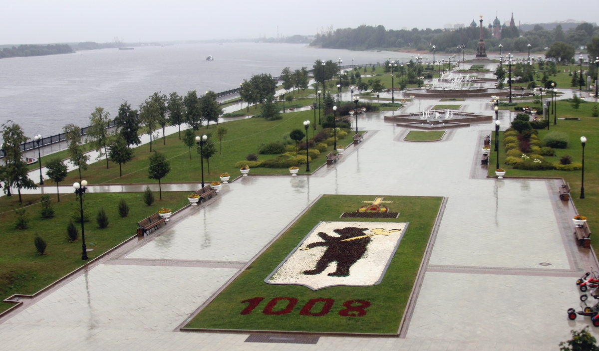 Ярославль. Парк на Стрелке - Дмитрий Солоненко