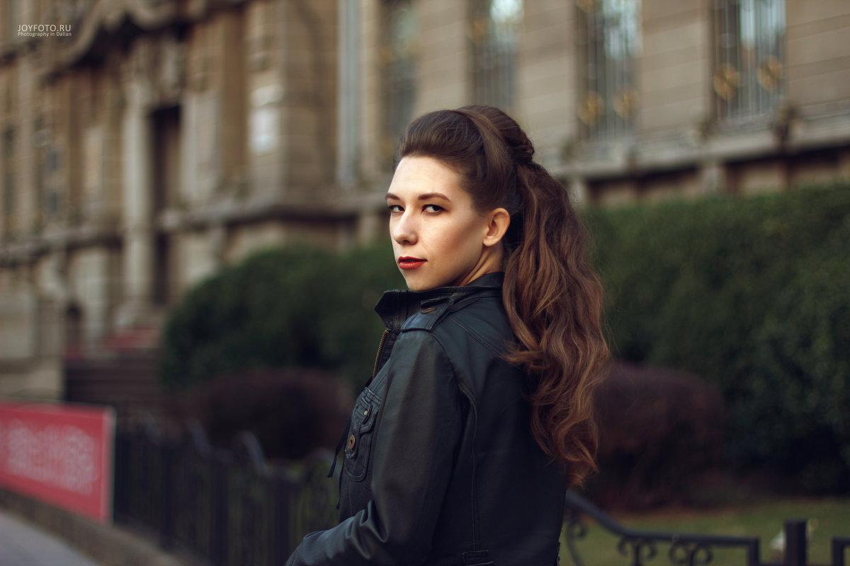 в центре Даляня - Ольга Фефелова