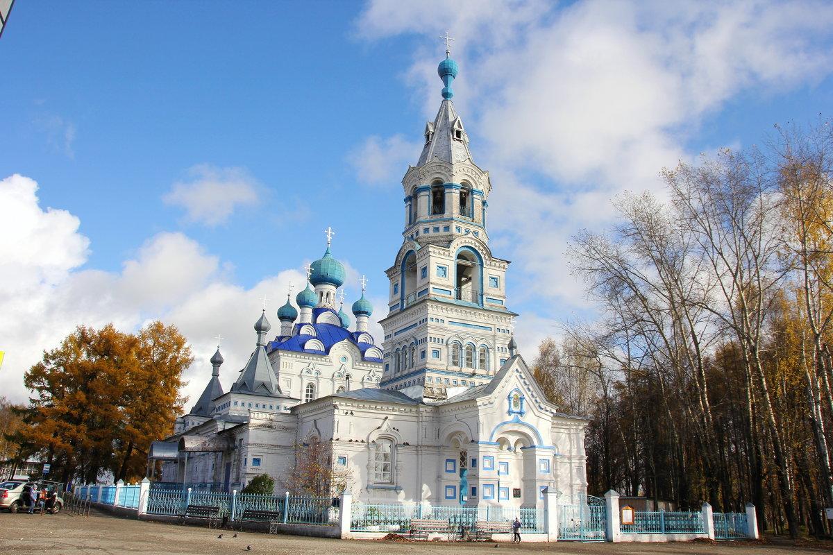 Покровский храм . г.Кирс... - Александр Широнин