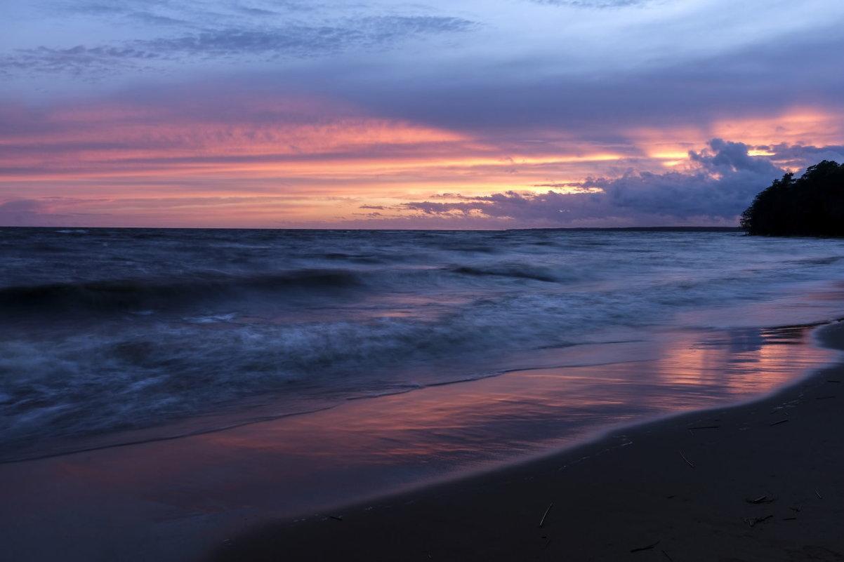 закат на финском заливе - Георгий