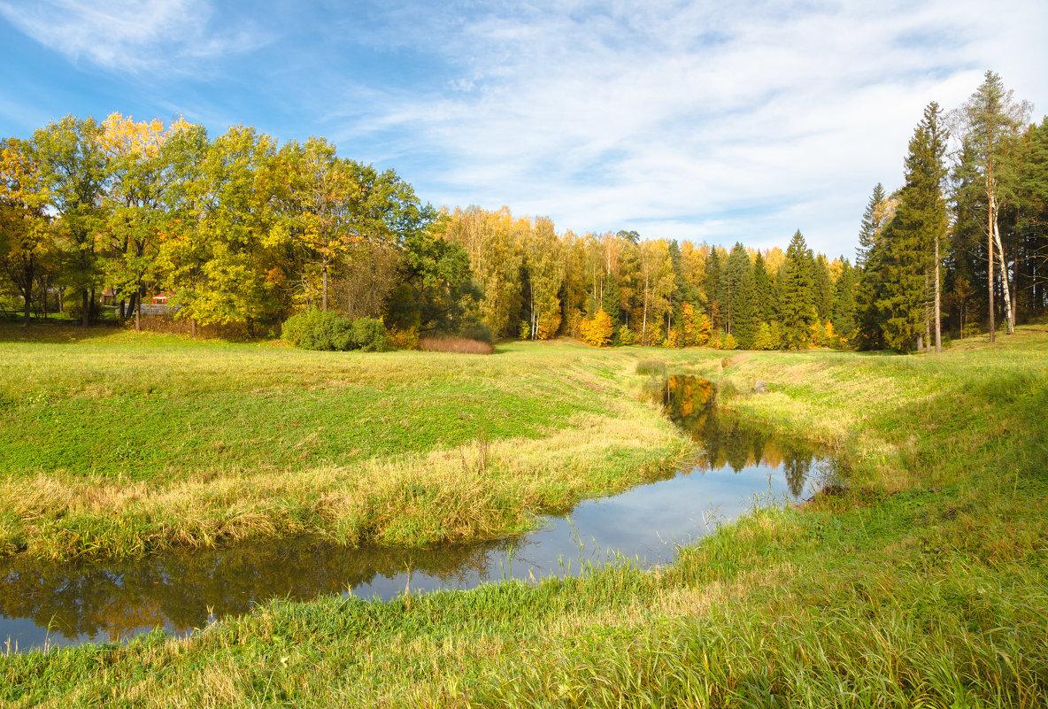 золотая осень в павловске - юрий затонов