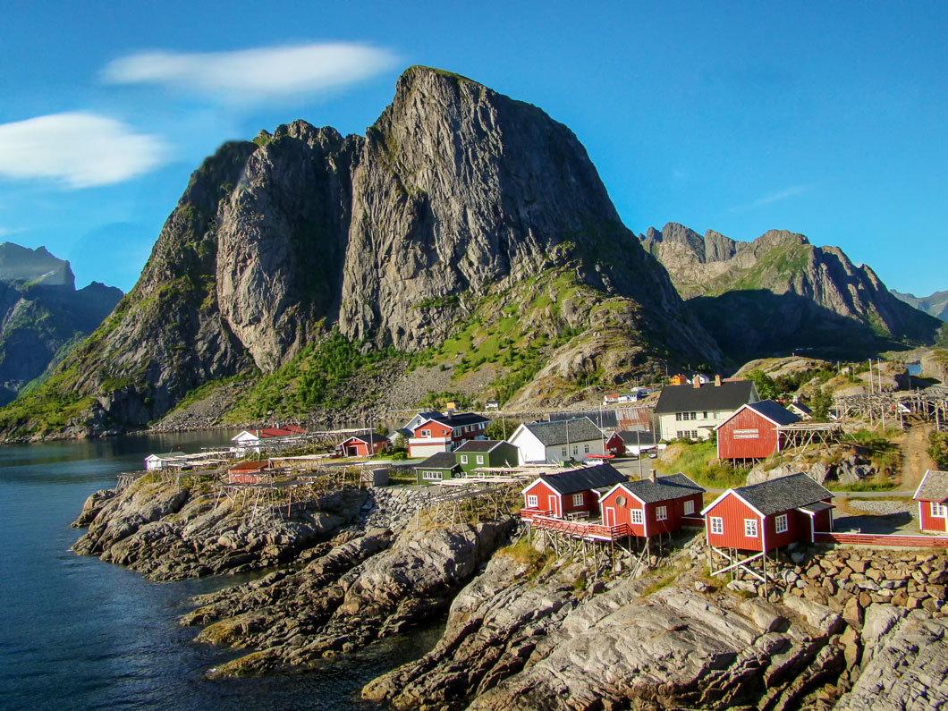 Северная Норвегия. Лофотенские острова. Переезд в Москинес. - Надежда Лаптева