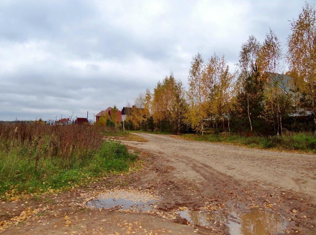 осень в деревне - Валентина. .