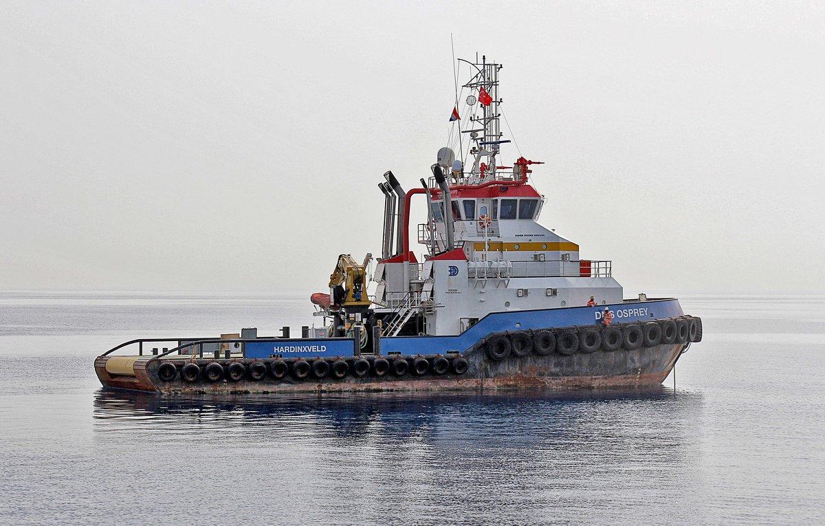 Буксир голландской фирмы DAMEN в порту Анталии - Nina Karyuk