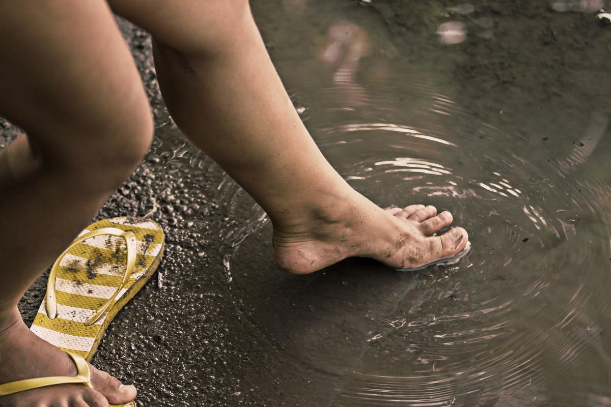 ножки грязные фото