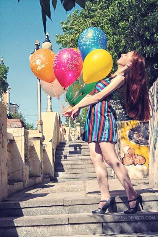 Фотосессия с шариками - Сергей Горбенко