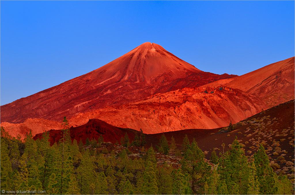 Вулкан Тейде, остов Тенерифе, Канары - Eduard Kraft