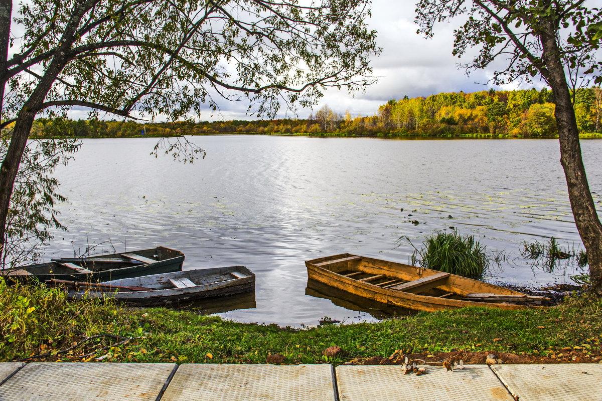 На озере - Галина Новинская
