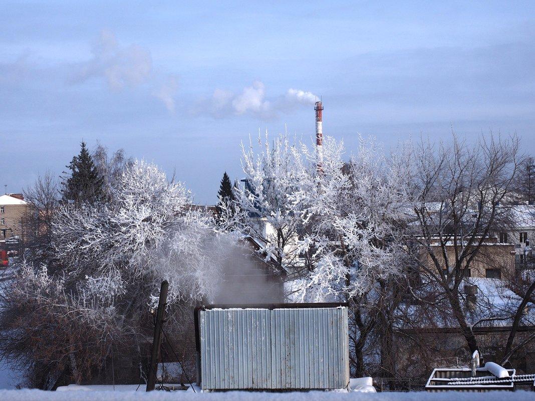 Зима. - Ильсияр Шакирова