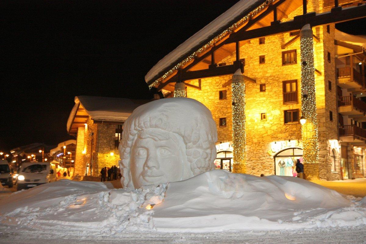 Снежная голова, Альпы - ZNatasha -