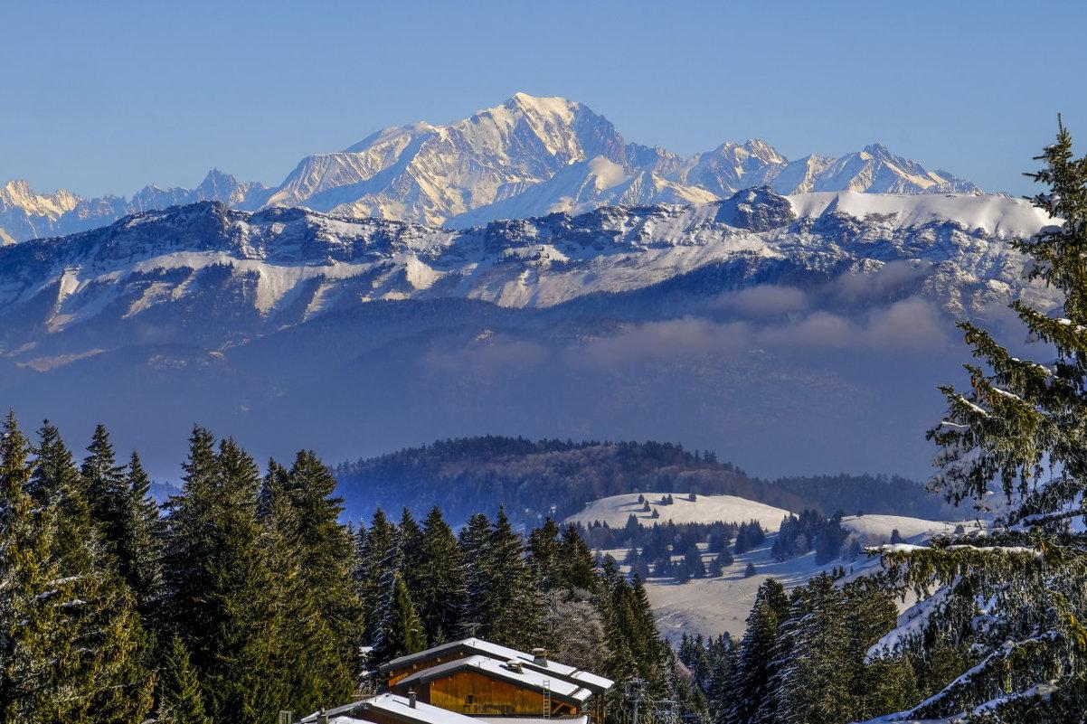 Белая Гора (Mont Blanc) 4807 m
