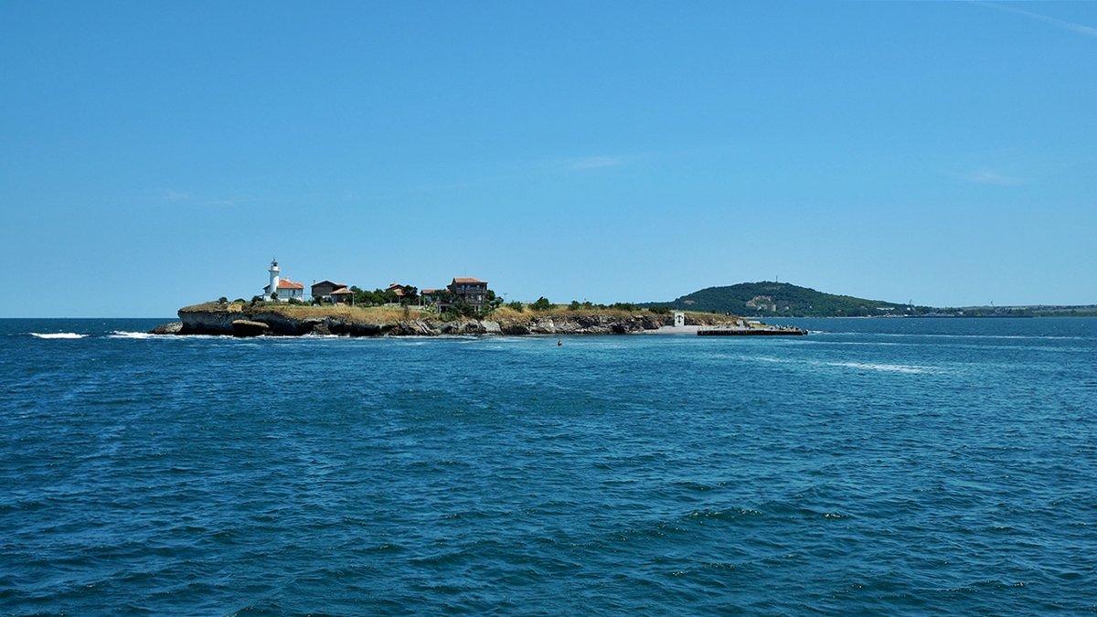 Остров Света Анастасия Болгария - Swetlana V