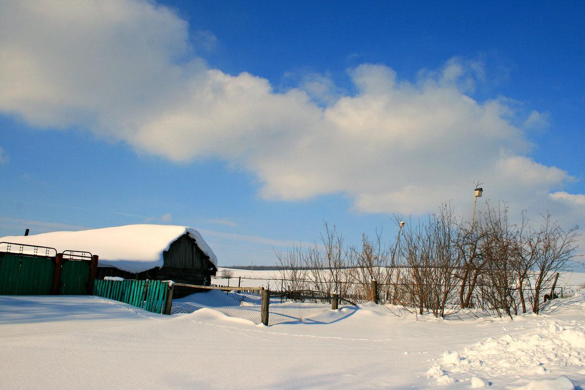 Прошла всего неделя февраля, а чудится уже весны дыханье... - Евгений Юрков
