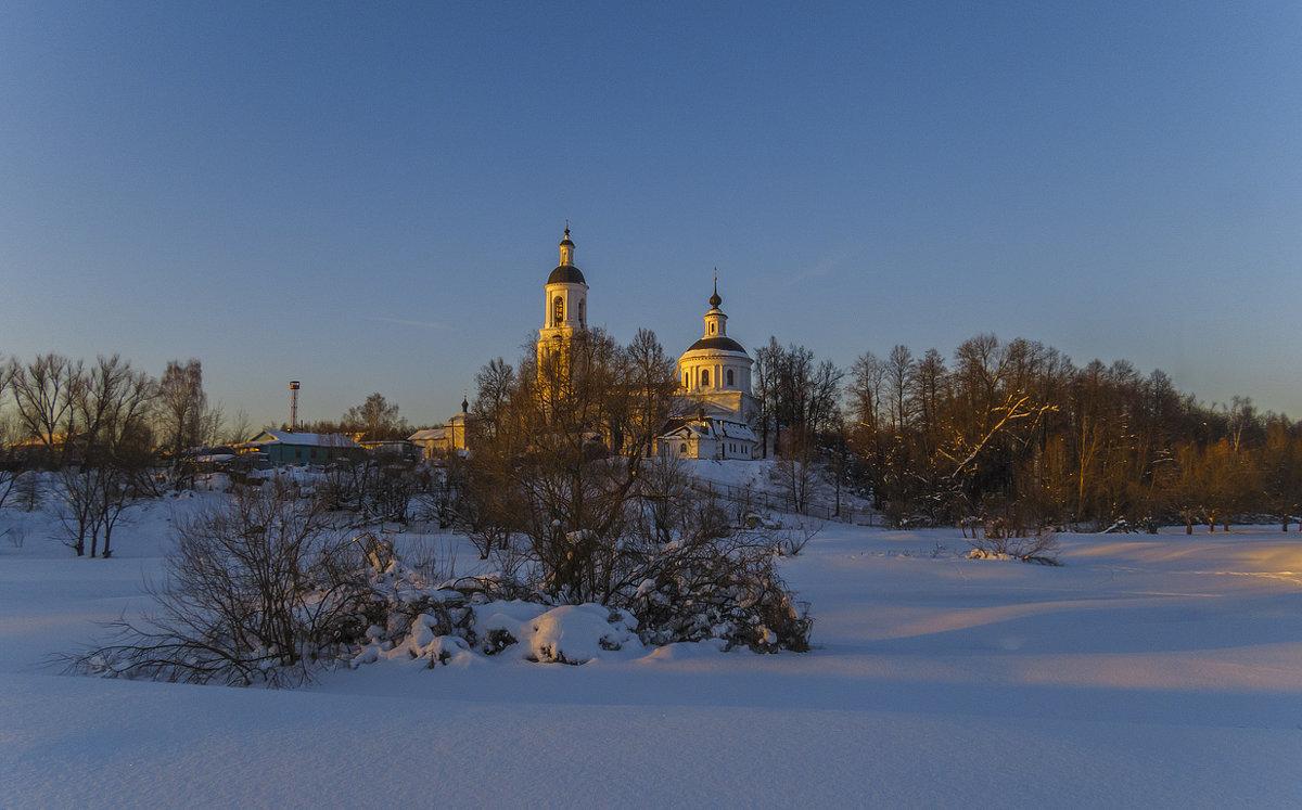 Зимний вечер - Сергей Цветков