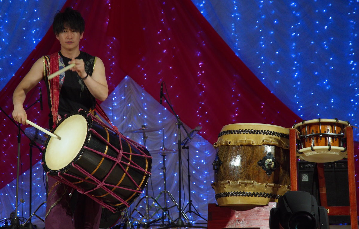 Японский барабанщик. - Николай Тишкин