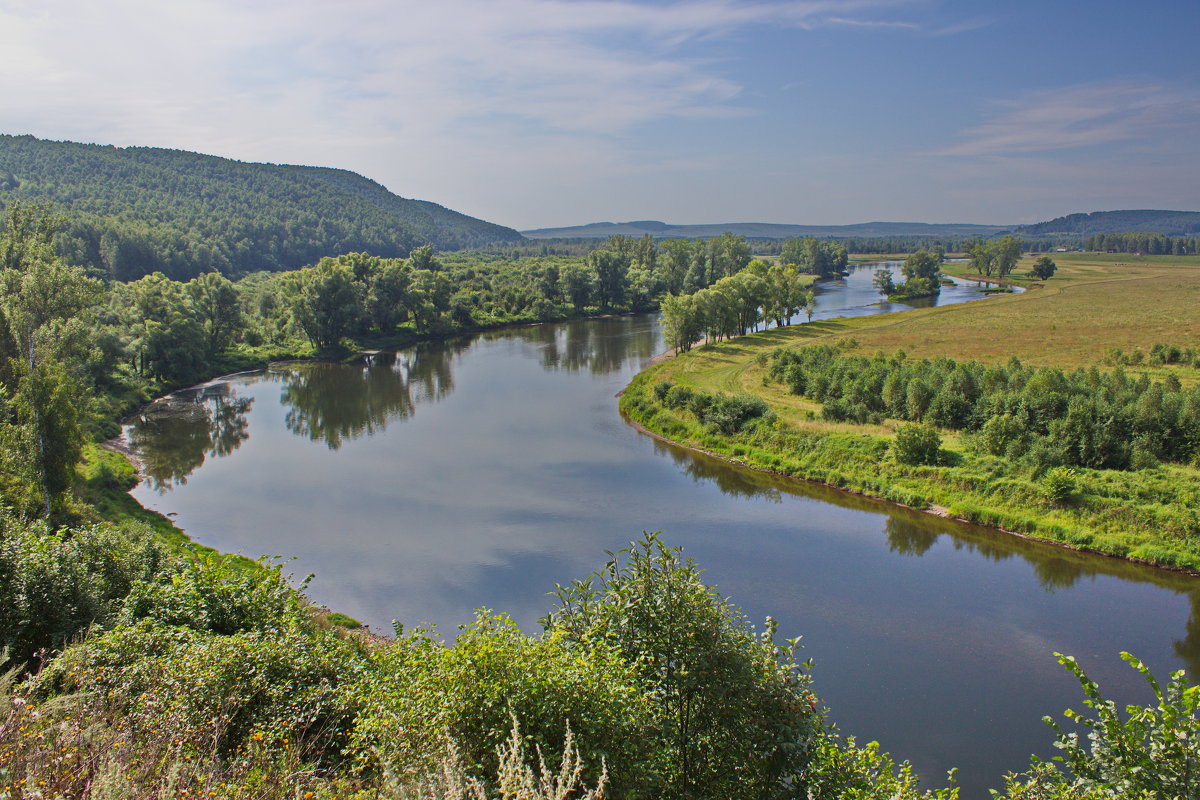 Безмятежность равнинной реки - val-isaew2010 Валерий Исаев