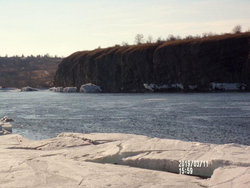 Енисей в марте - Любовь Иванова