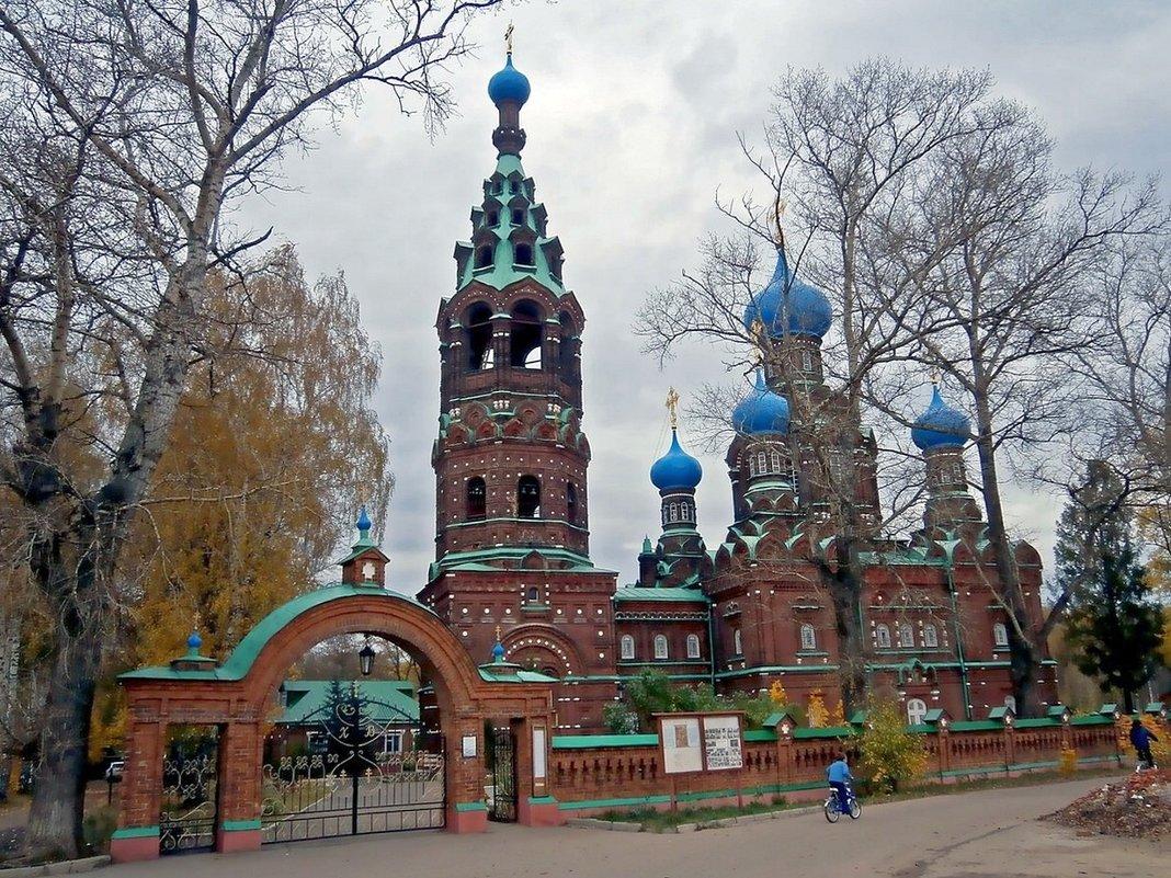Церковь Покрова Пресвятой Богородицы на Клязьме (Подмосковье)