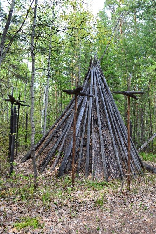 У шатра шамана - Ольга