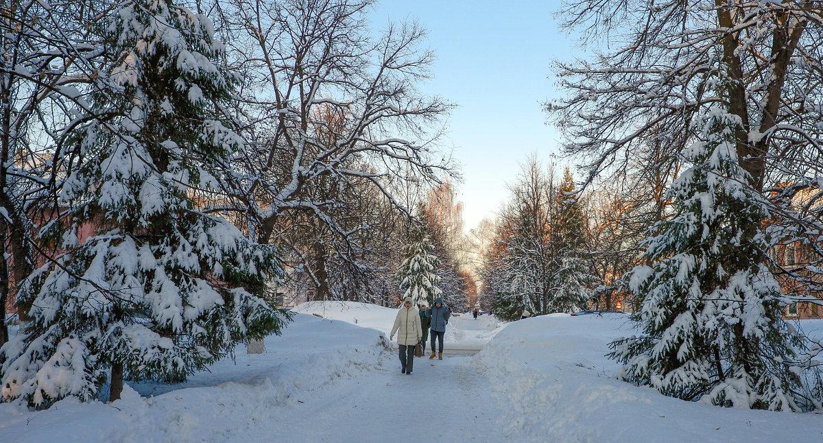 15 марта, возвращение зимы - Любовь Потеряхина
