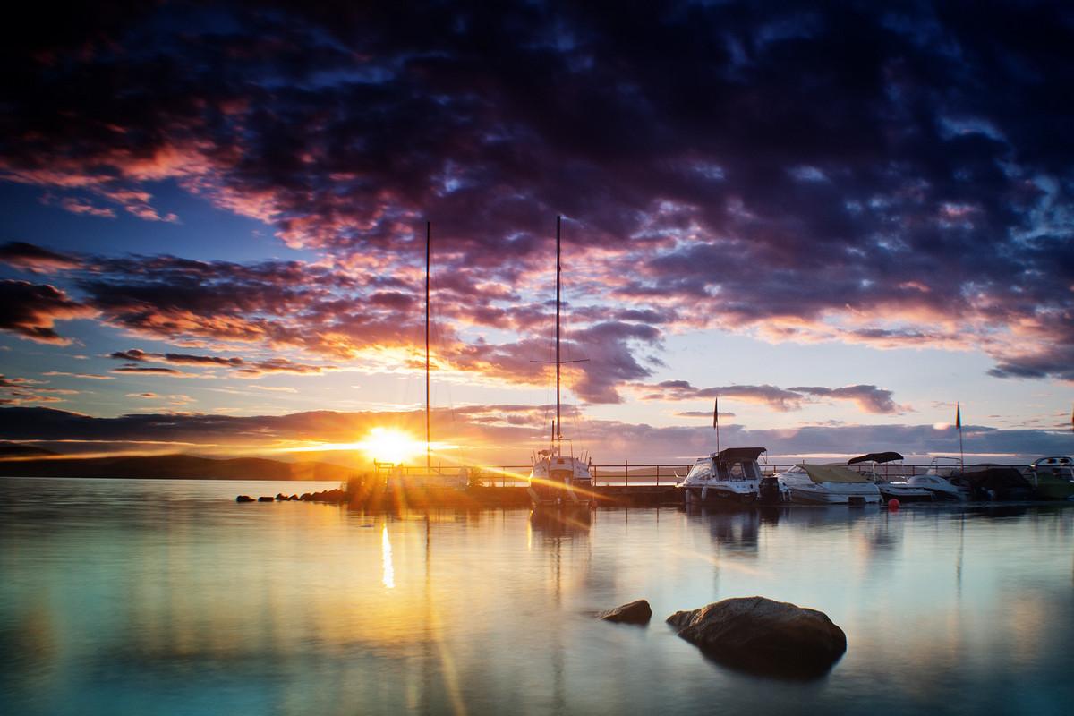 Озеро Исеть на закате - Pavel Kravchenko