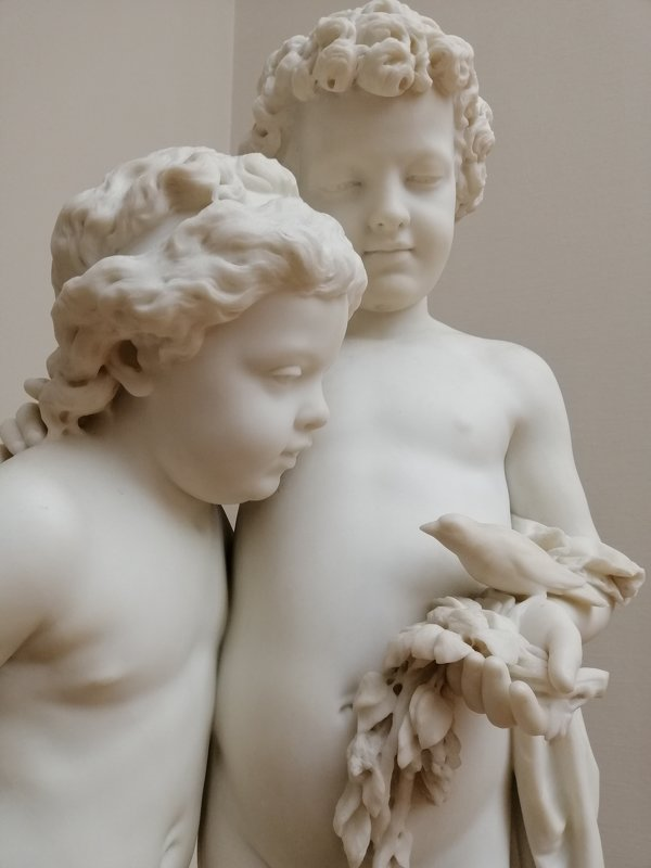 Скульптура в Третьяковке - Karlygash Khassenova