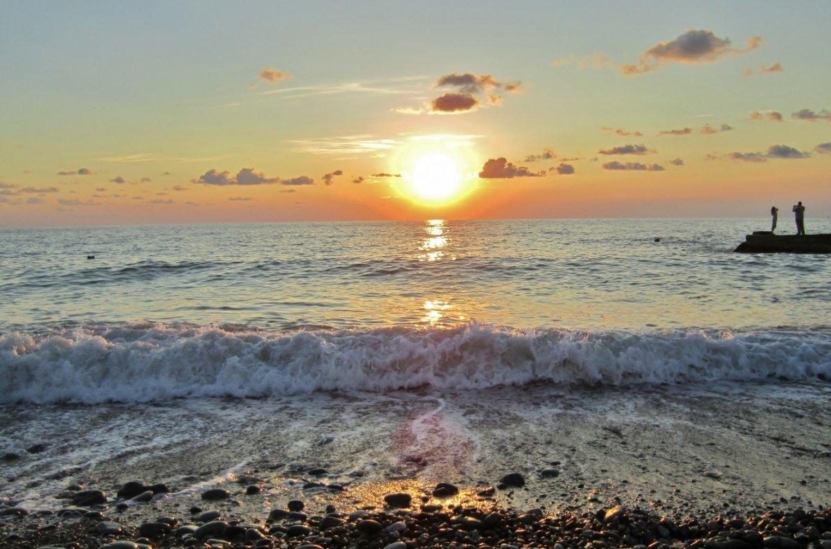 Волны на закате - Елена (ЛенаРа)