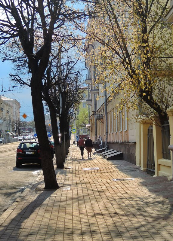 Солнечный день в Минске. - Александр Сапунов