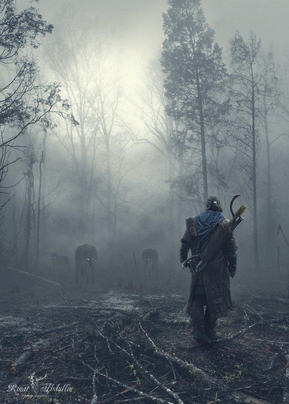 На пути свирепые волки - Ринат Абдуллин