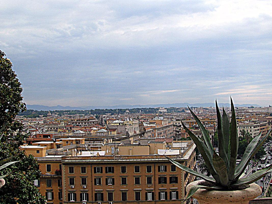 Рим с окна Ватикана. - Владимир Драгунский