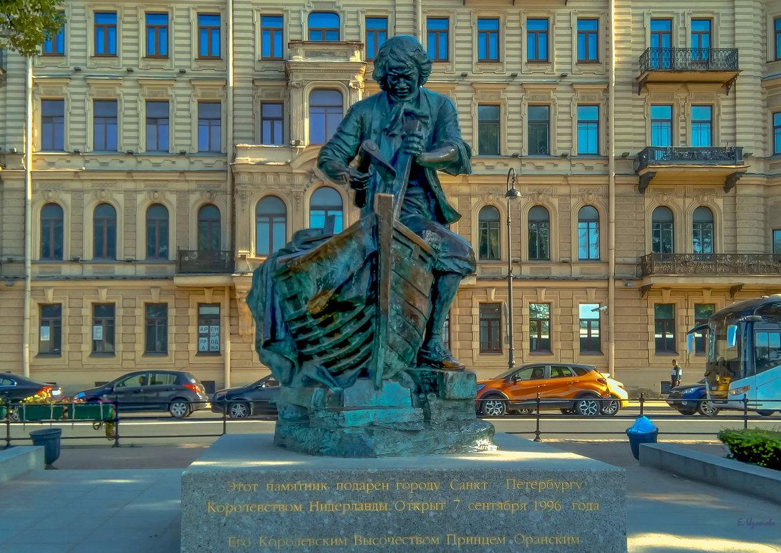 "Памятник Петру - ""Царь-плотник"" - Elena Izotova"