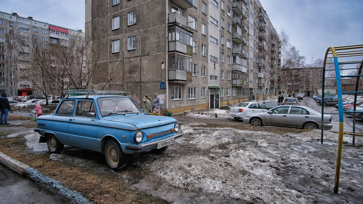 blue car - Dmitry i Mary S