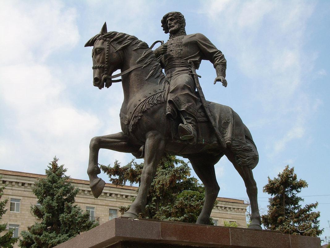 Памятник Григорию Засекину - Инна Драбкина