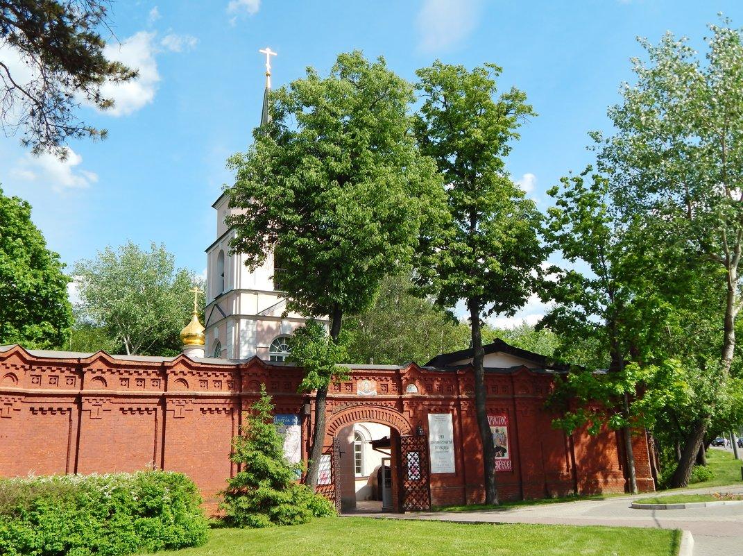 Храм на Покровке-Стрешнево в Москве - Валентина Пирогова