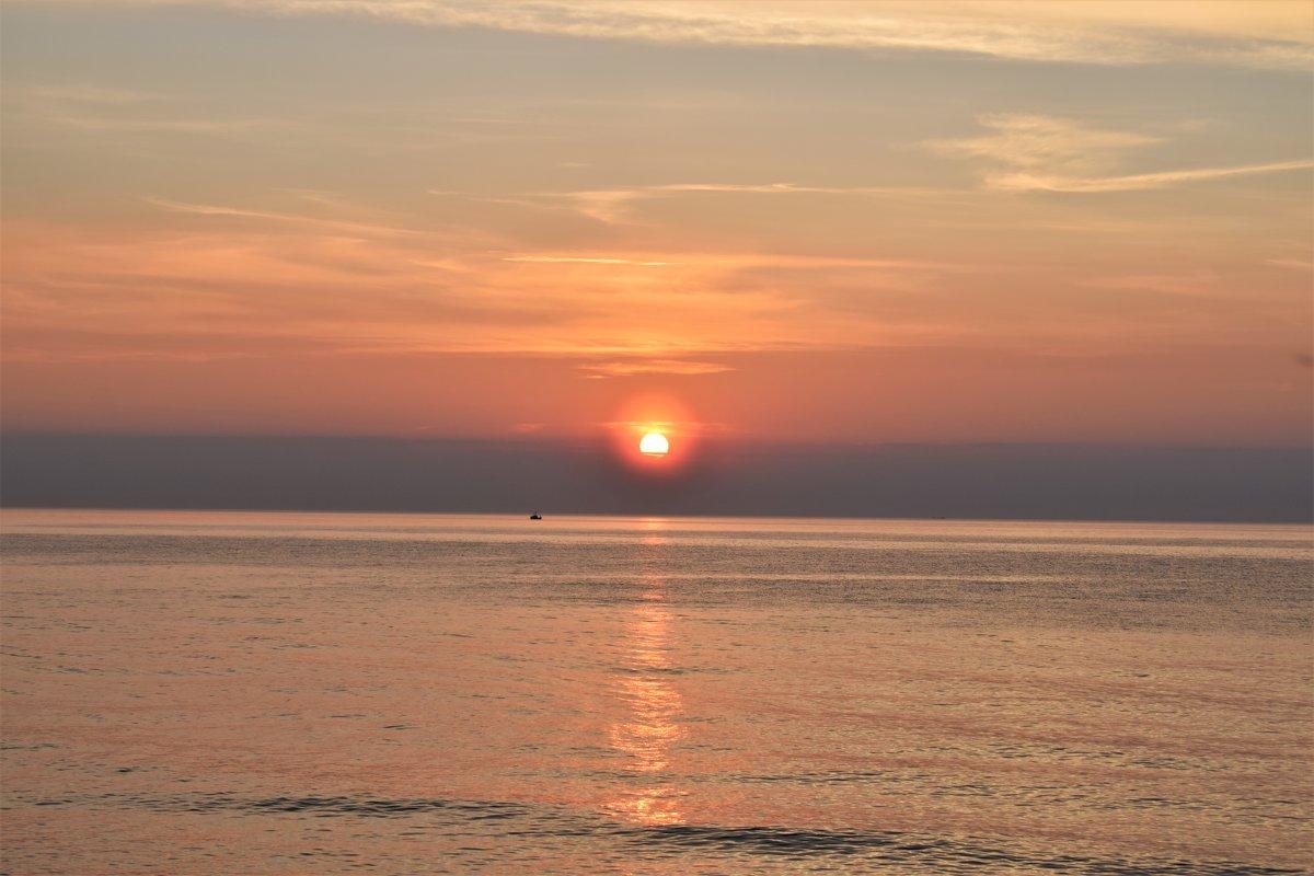 закат - Марина