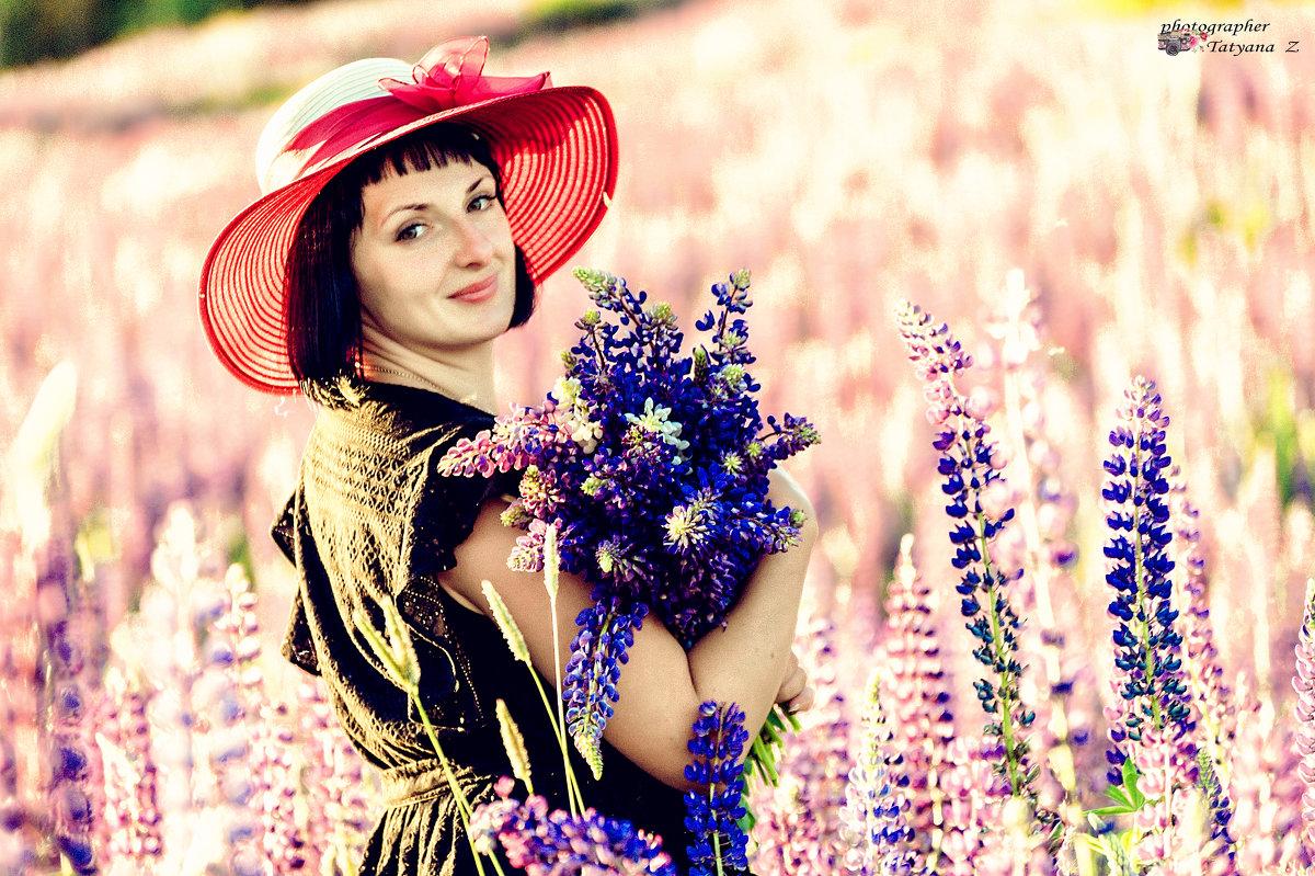 цветущие люпины - Татьяна Захарова