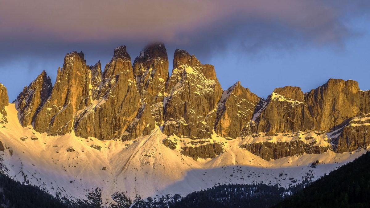 типичная панорама доломитских гор - Георгий А